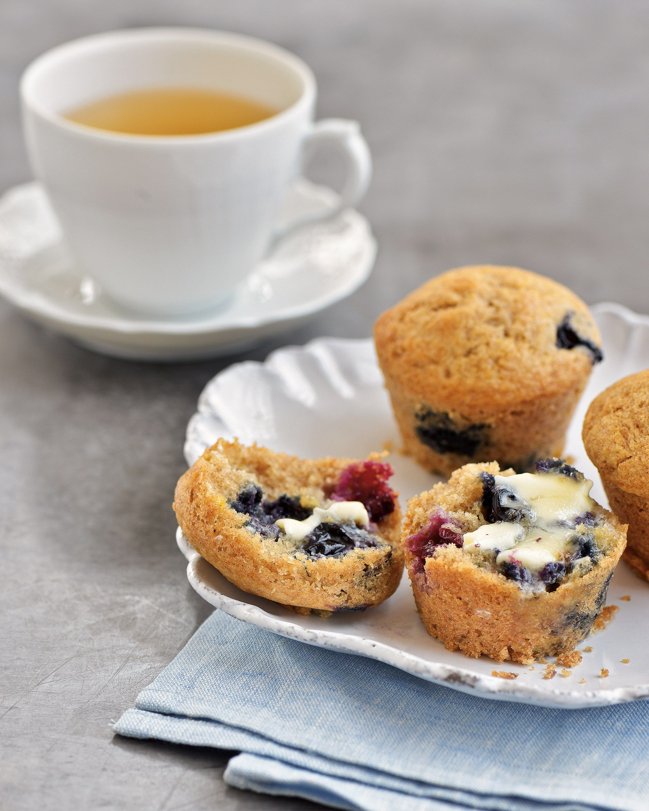 Nantucket Blueberry Muffins From Elin Hilderbrand book