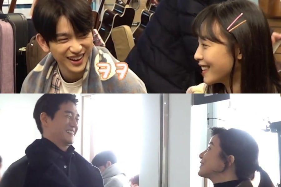 Watch: GOT7's Jinyoung, Jeon So Nee, Yoo Ji Tae, And Lee Bo Young Test Chemistry On Set Of New Drama