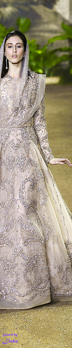 Elie Saab Spring 2016 Couture~pinned by Linka Crosby