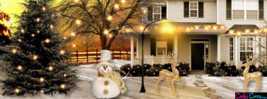 Beautiful Christmas Decoration Facebook Covers Best