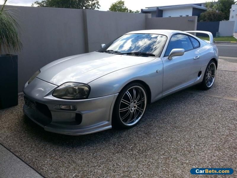 Car for Sale 1993 SILVER TOYOTA MKIV SUPRA RZ 2JZGTE TWIN