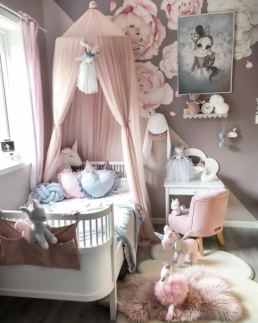 Absolutely Adorable Little Girl Room Girl Room Toddler Bed