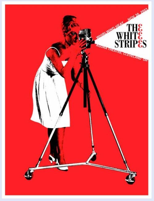 White Stripes posters by  Rob Jones