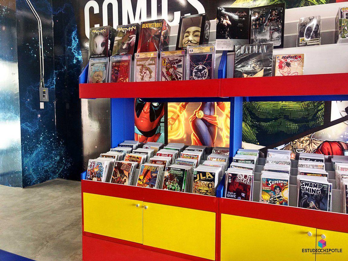 Remodelación comercial en tienda de cómics e22b01e293ef