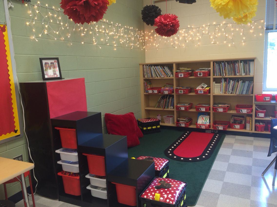 My Mickey Mouse Themed Classroom Library For The Year With