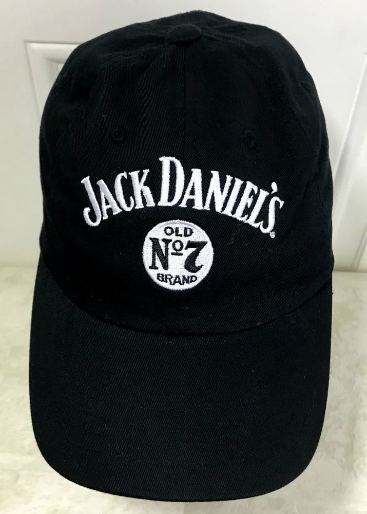 8850023456704 Jack Daniels Hat Old No 7 Patch Strapback Cap Bourbon Whiskey Tennessee Dad   JackDaniels  BaseballCap