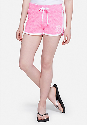 9a445d1b French Terry Dolphin Shorts | Cute Things | Gym shorts womens ...