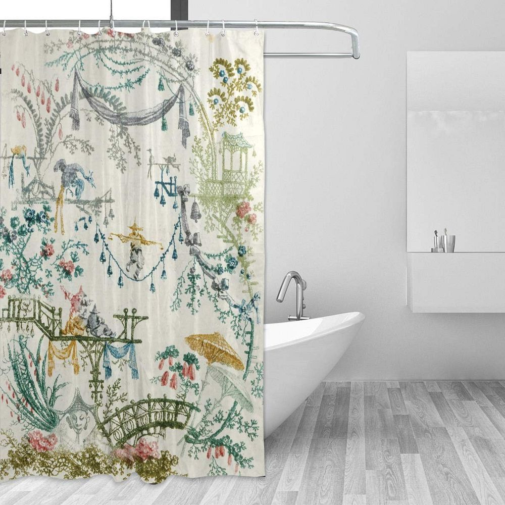 Top 6 Shower Curtains That Can Brighten Up Your Morning Shower Curtains Shower Curtain