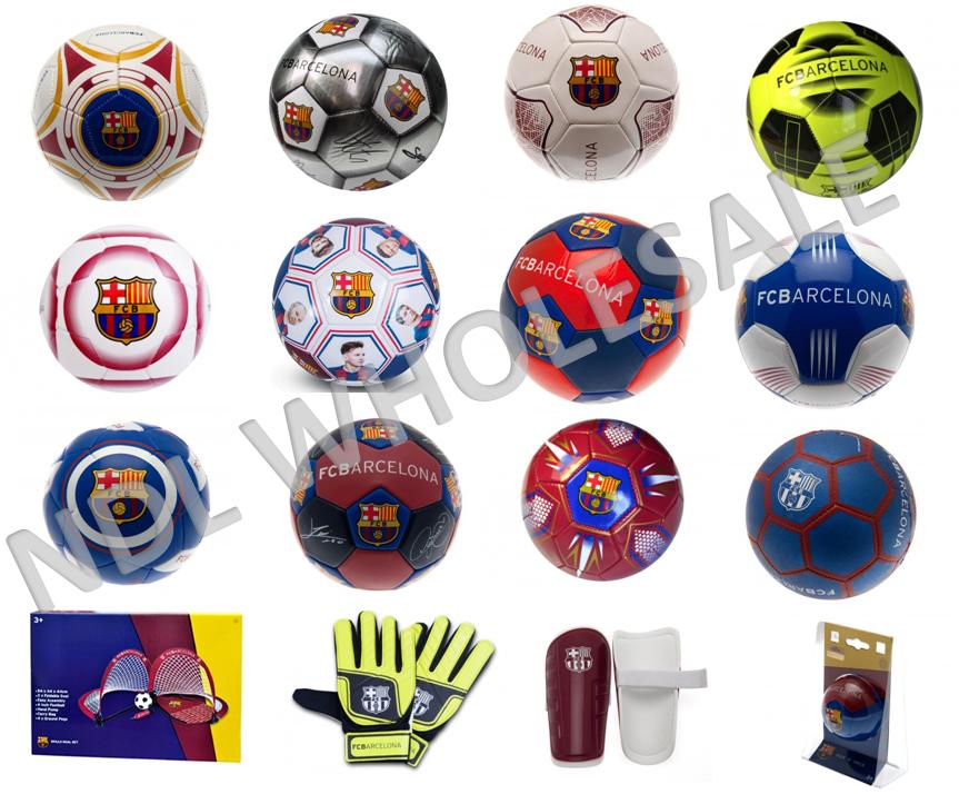 4,5 FCB Handschuhe Logo Kids