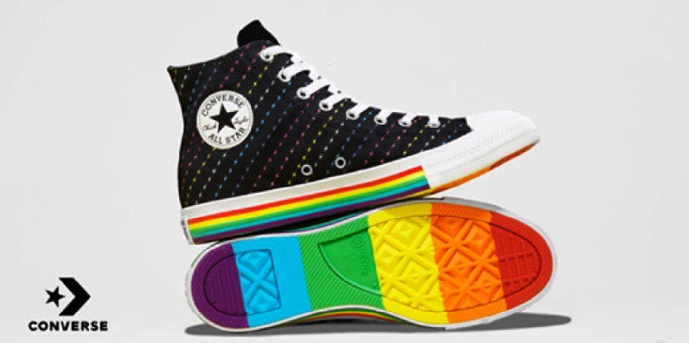 Pride shoes, Converse, Pride