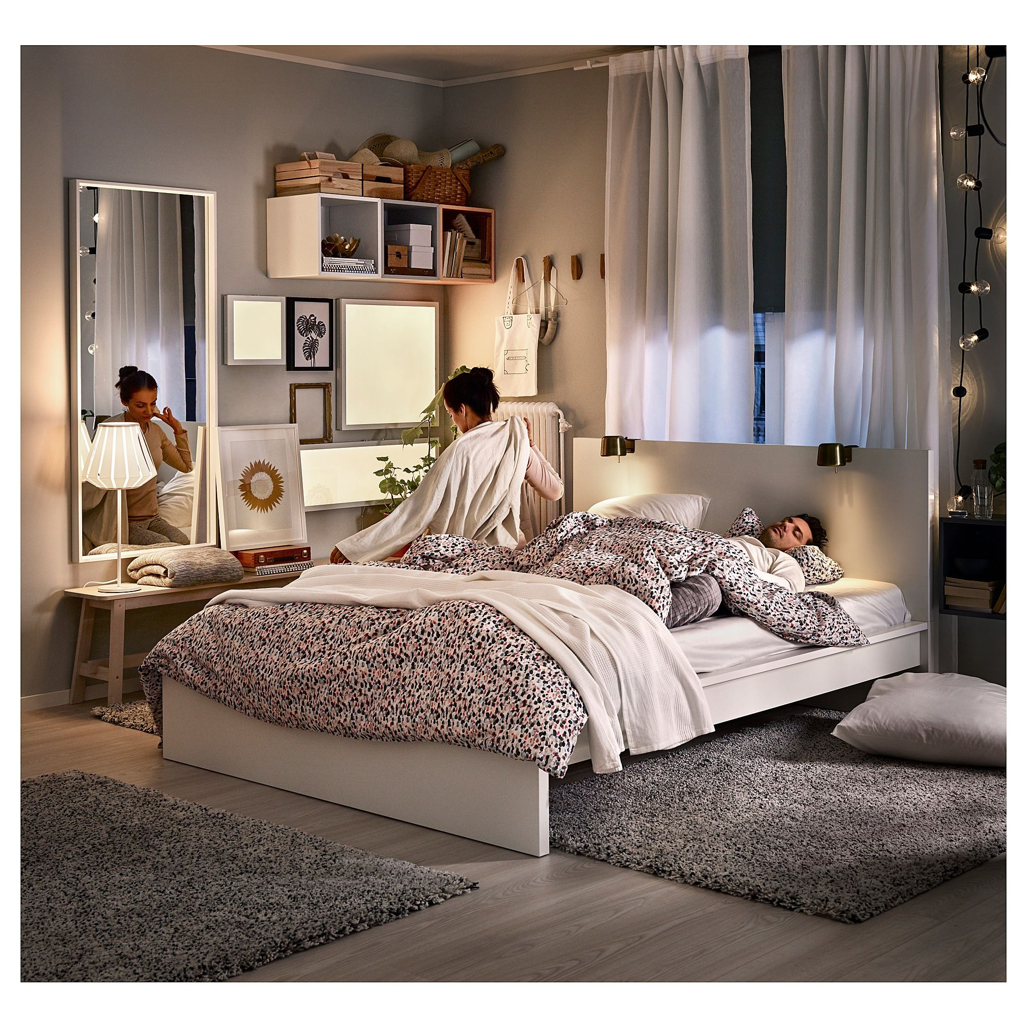 Malm Bed Frame High White Shop Here Ikea Malm Bed Frame