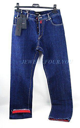 "Kiton Napoli ""Smoking"" Blue Jeans Pants, 58% Canapa, Sz 33 (# 23)  http://www.allmenstyle.com/kiton-napoli-smoking-blue-jeans-pants-58-canapa-sz-33-23/"