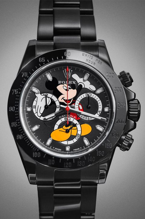 A First Look at John Mayer's Custom Mickey Mouse Rolex Daytona