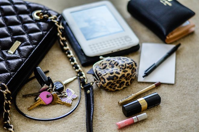 What In My Kate Spade Leighton Bag
