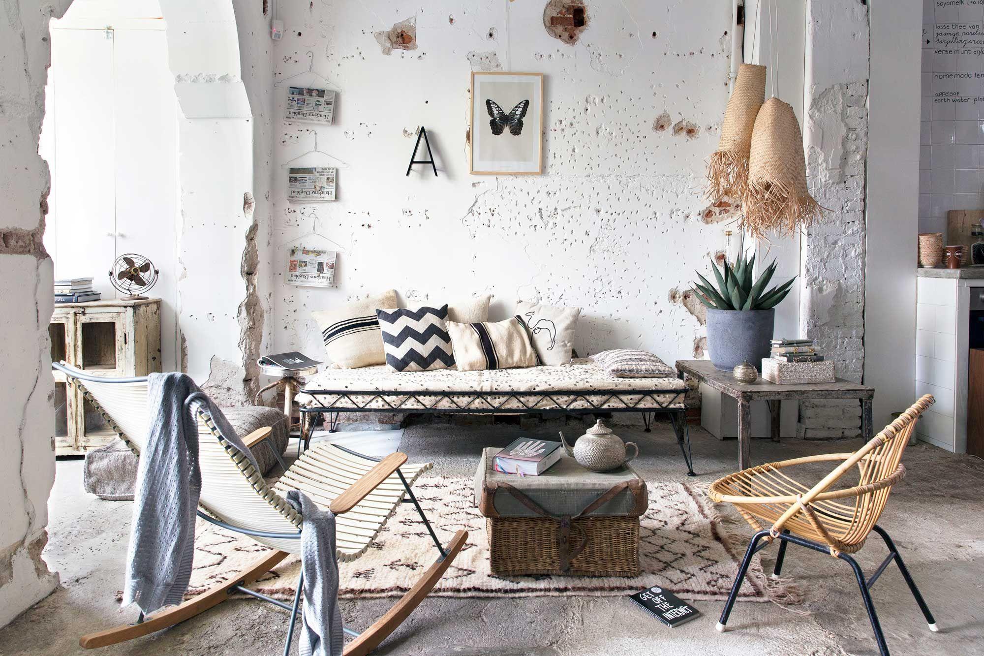 woonkamer in strandsfeer | livingroom in beach style | 08-2014 ...