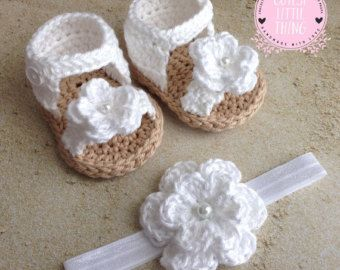 Photo of Crochet Baby Girl Sandals, Crochet Daisy Sandals, Crochet Baby Shoes, Flower Summer Shoes, Spring Shoes, Daisy Espadrille sandals,Girl Shoes