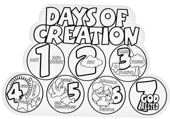 Creation Coloring Pages For Preschoolers #coloringsheets 7