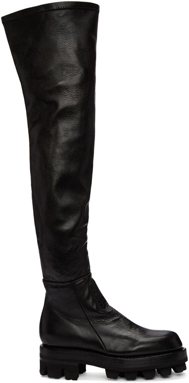 Alyx Sur Les Bottes Du Genou - Noir H0suGXXTM