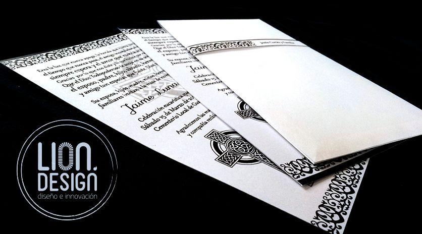 Lindas Tarjetas De Invitación Para Novenario Tarjetas