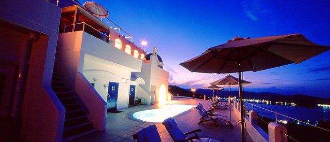 エーゲ海の あの島 そっくり 高知にあるリゾートホテルで憧れの海外