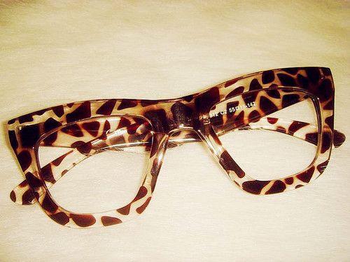 NEW Fashion Retro Vintage Brown Leopard Lenses Sara Sunglasses Nerd Glasses