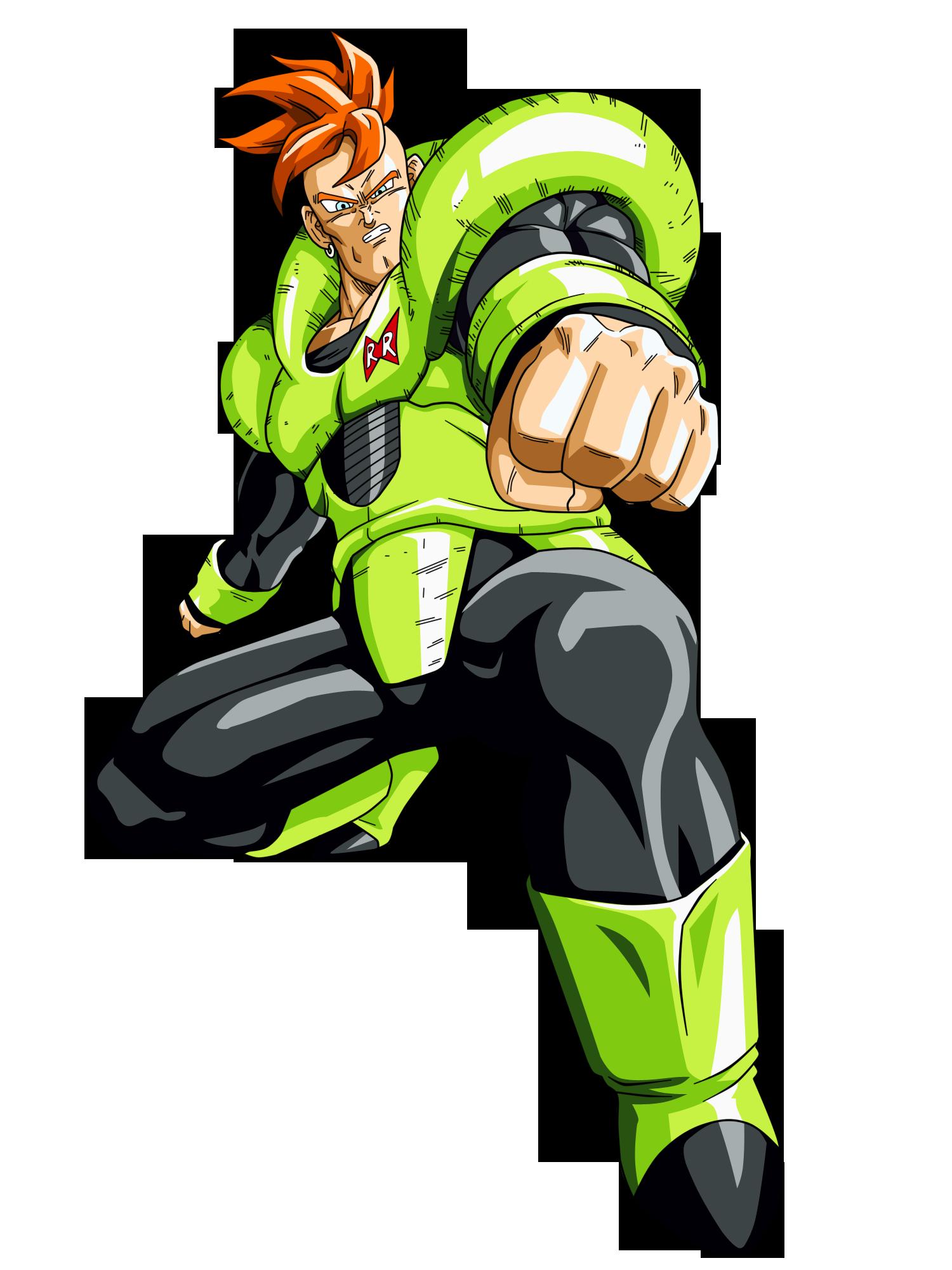Androide Numero 16 Dragon Ball Gohan Mistico Anime