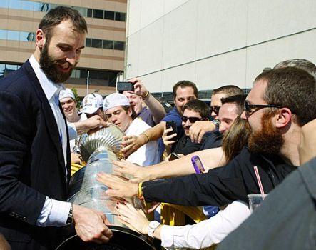 Chara and the Cup. We need it back!
