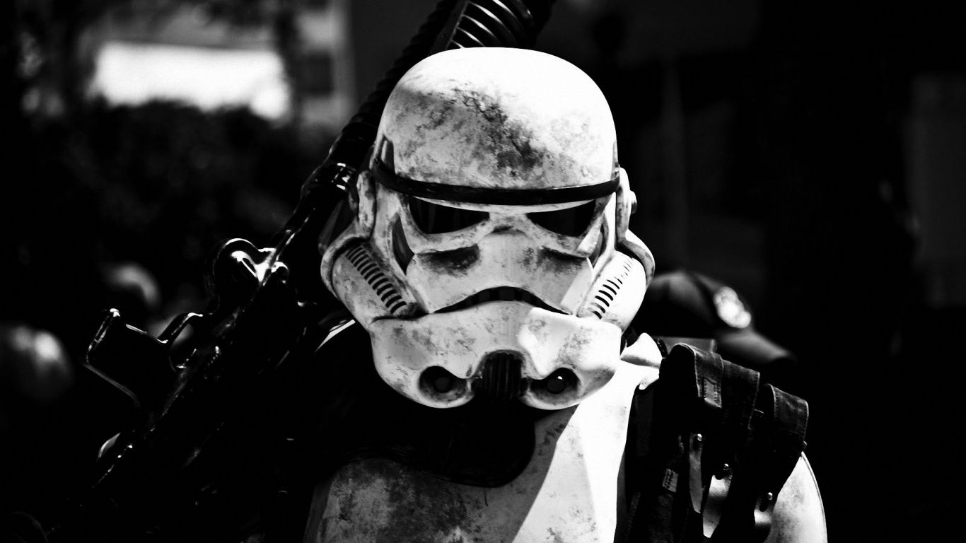 Star wars stormtrooper Wallpaper in 1366x768 Fondos de