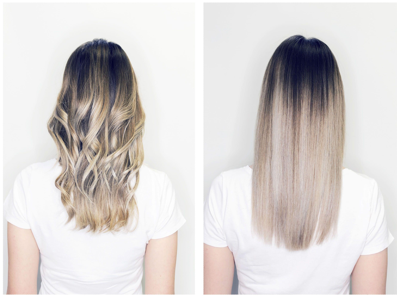 Como alisar el cabello rizado sin maltratarlo