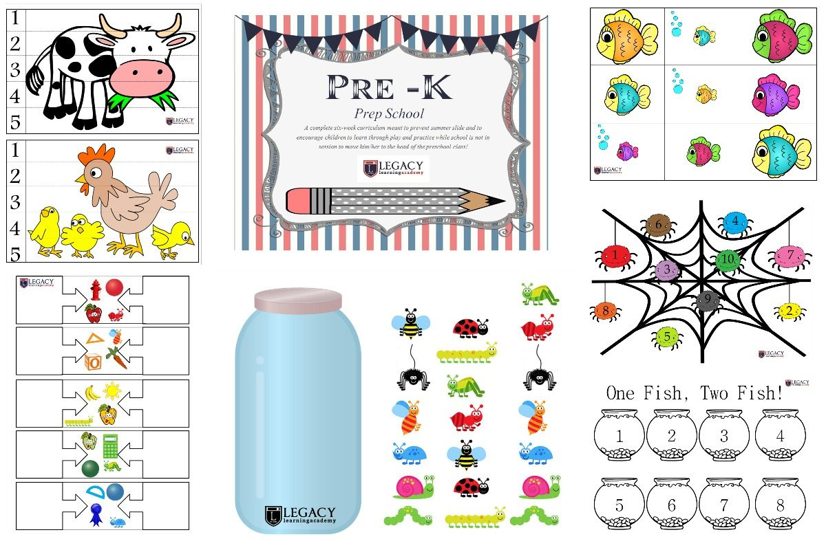 Legacy Learning Academy Pre K Prep School Resources