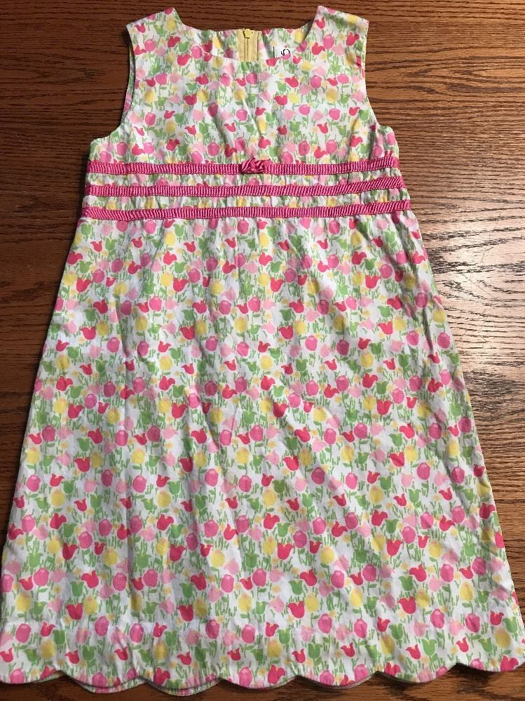 Lilly Pulitzer Girls Size 6 Tulip Print Sleeveless Dress | eBay ...