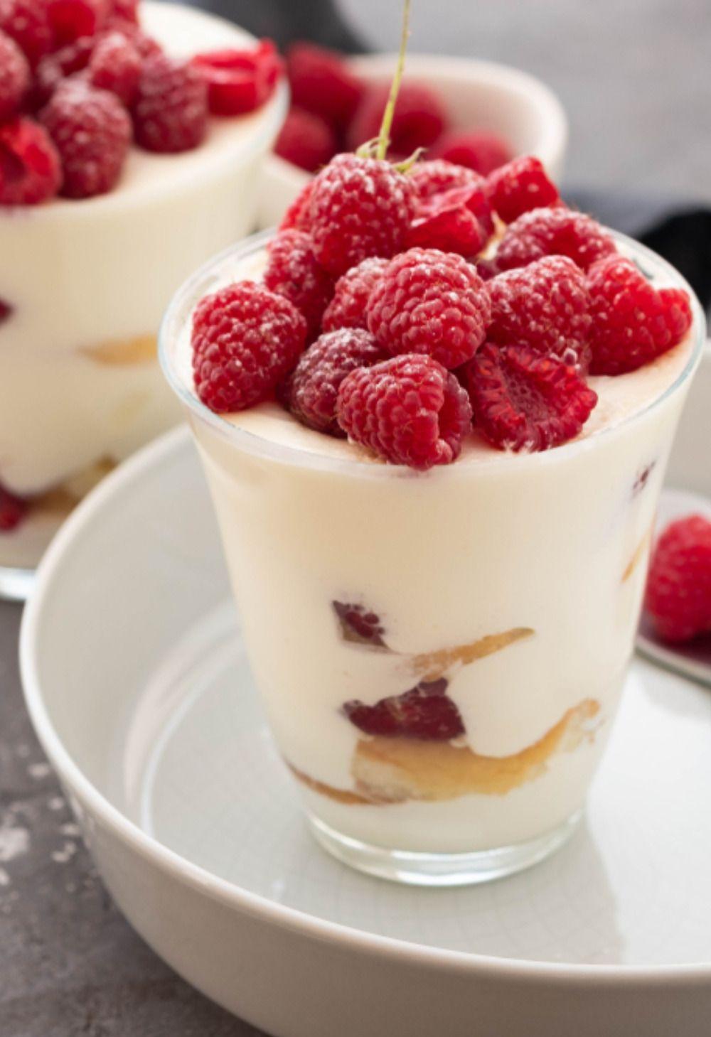 Himbeer Tiramisu | Dessert mit Himbeeren  #löffelbiskuitrezept
