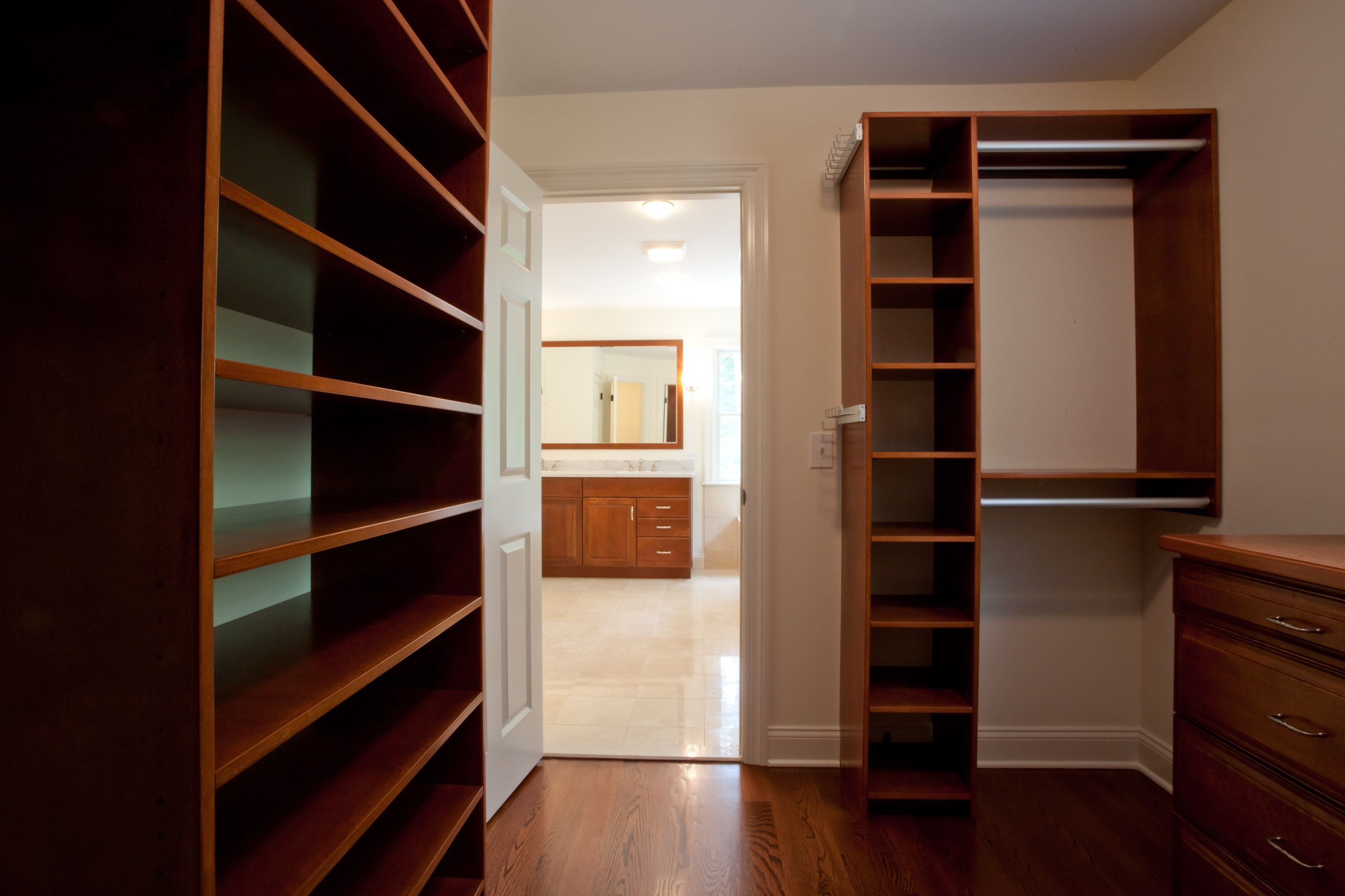 Large Walk In Closet Of A Custom Modular Colonial Home By Coyle Modular  Homes Of