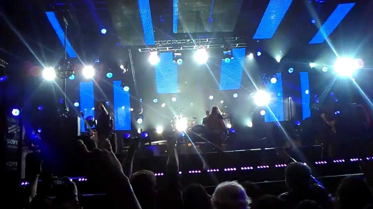 Motley Crue Jimmy Kimmel LIVE! 1-28-14. Songs not aired-Wild Side ...