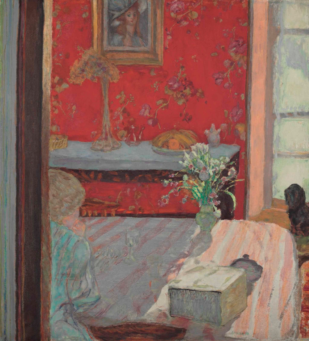 Pierre Bonnard (1867-1947)Intérieur (Appartement de Bonnard à Paris)signed 'Bonnard' (lower right)oil on canvas49 5/8 x 44 7/8 in. (126 x 114 cm.)Painted in 1914