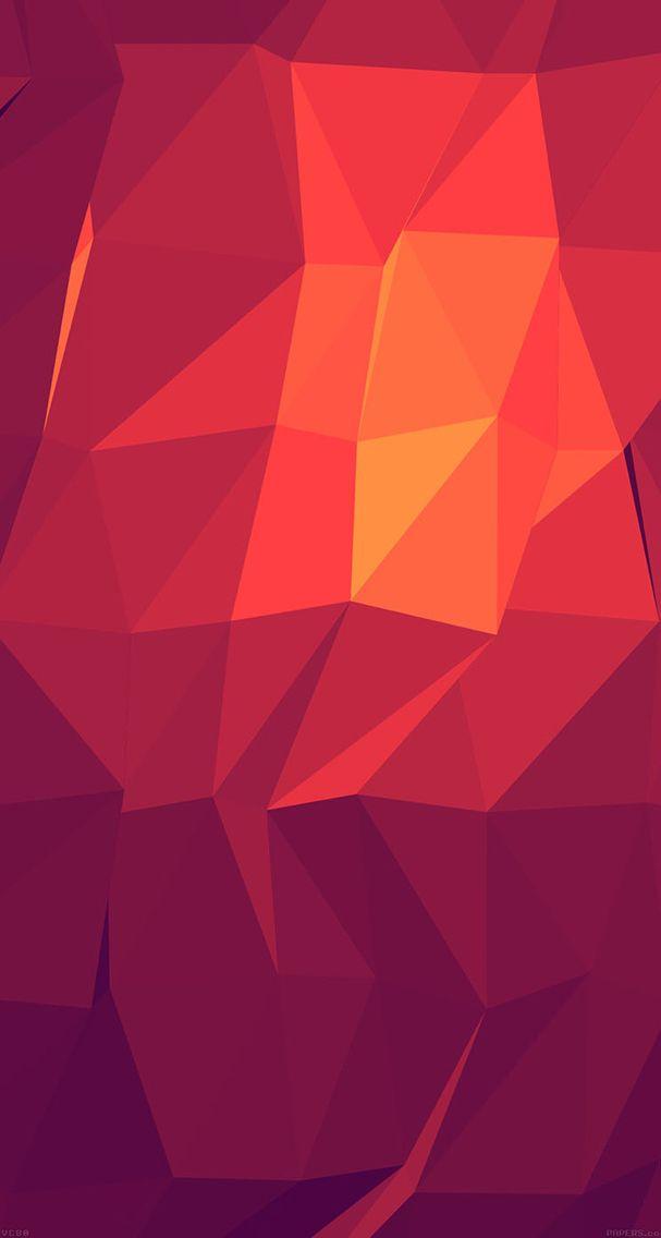 Triangles Lights Pattern Wallpaper Fix Orange Desktop Apple