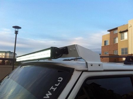 Hooligan Offroad Universal XJ Light Bar Roof Mount