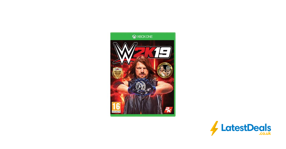 Xbox One Wwe 2k19, £17.97 at Currys PC World (With images