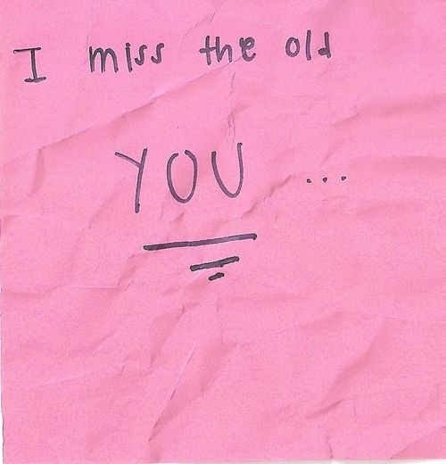 Awesome I Miss The Old You Quotes Tumblr