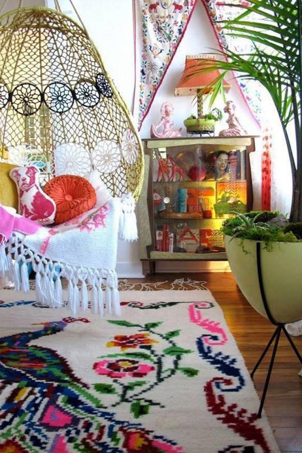 Unique hippie home decor 25 decoraci n boho estilos for Decoracion hogar hippie