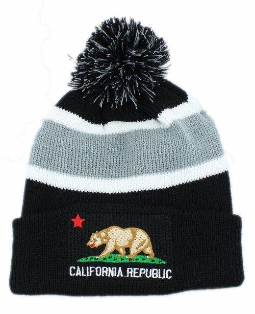 California Republic Beanie (1)  7a6040bfb46