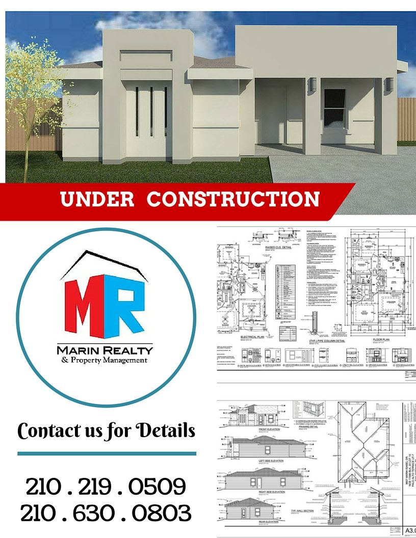 * PROPERTY UNDER CONSTRUCTION * NOTHING LIKE A NEW HOME ON A WELL ESTABLISH NEIGHBORHOOD !!! MODERN AND CONTEMPORARY DESIGN, SINGLE STORY 1,444 SQ FT, SPACIOUS AND OPEN FLOOR PLAN, WITH POP UP CEILINGS, PLENTY OF LIGHT AND BRIGHT LOOK,ONE LIVING AREA, DINING AREA, EATING IN KITCHEN AREA, WALK-IN CLOSETS, GREAT SIZE BEDROOMS, UPGRADE LIGHT AND WATER FIXTURES, BEAUTIFUL STUCCO CURB APPEAL WITH AN INVITING COVERED PORCH AREA.... A TRUE GEM!!