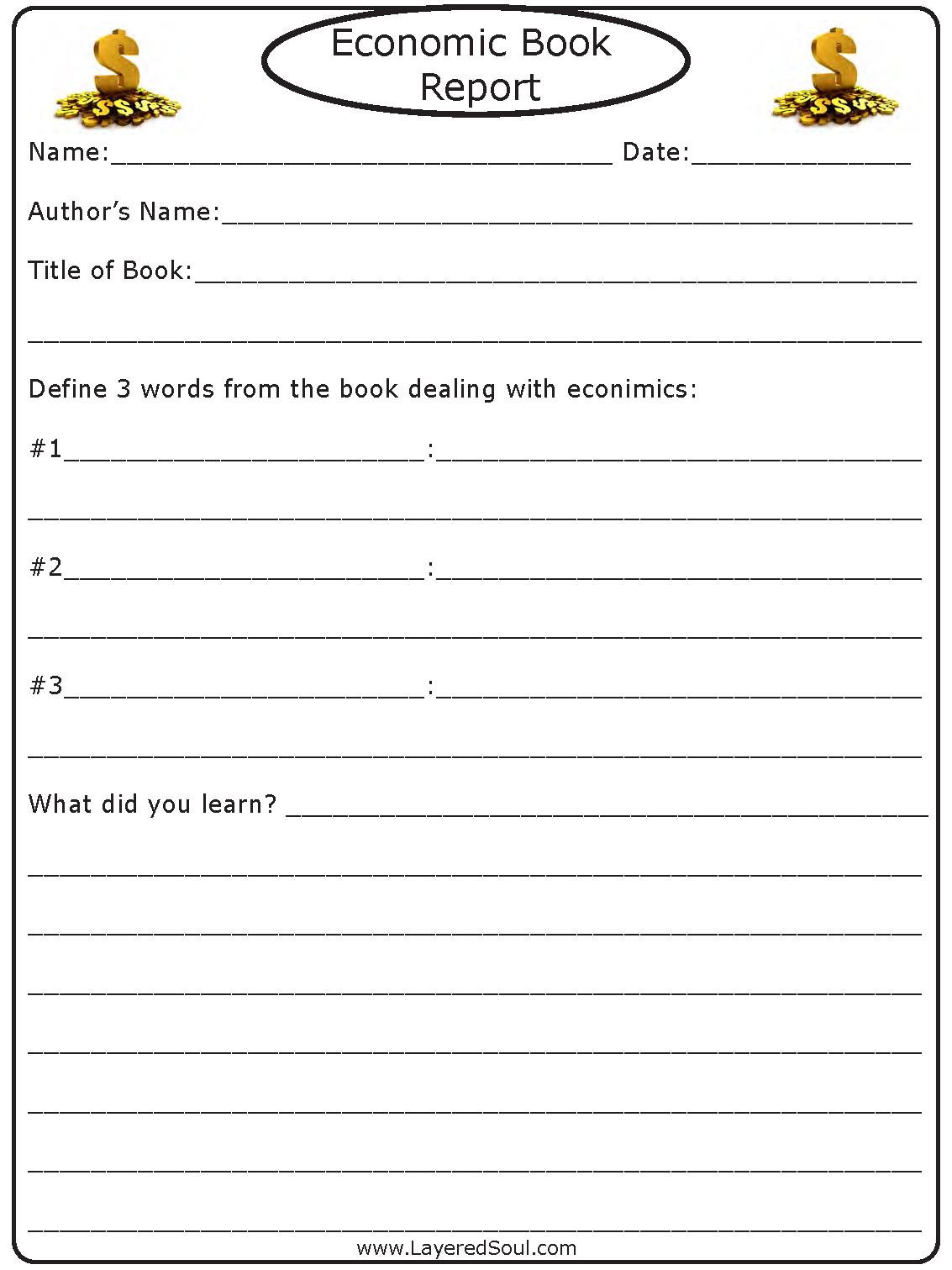 Book Report Economics