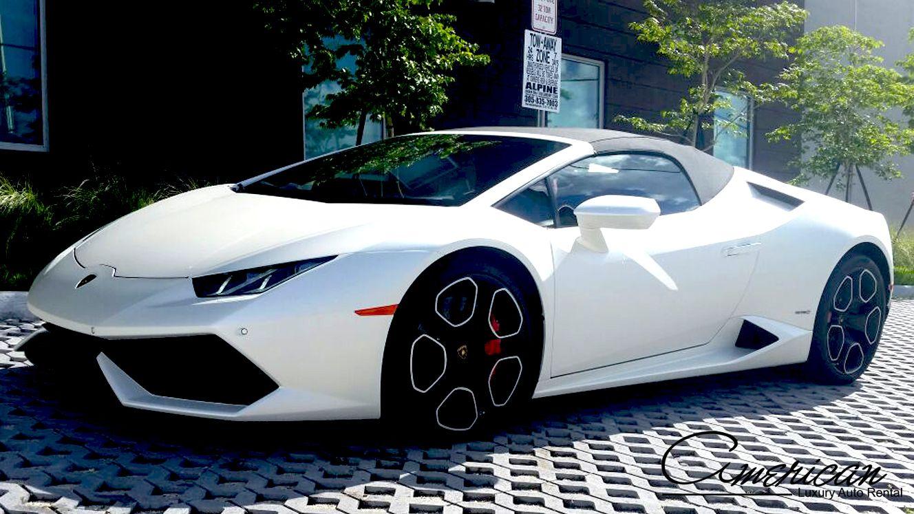 Lamborghini Rental Miami Huracan 2017 | Lamborghini rental ...