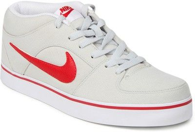 Nike Liteforc Canvas Shoes - Buy PURE PLATINUM/UNVRSTY BL-WHITE ...