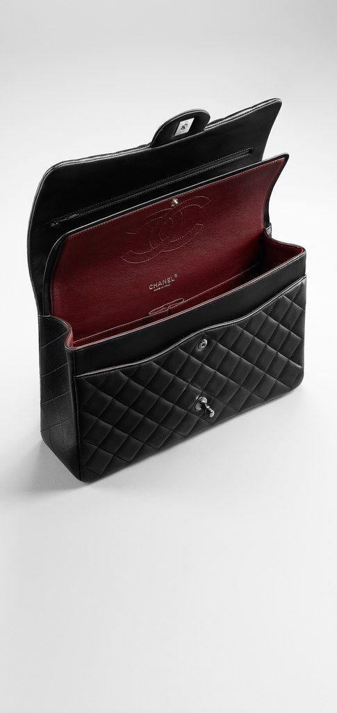 Klassische Pattentasche Aus Lammleder Chanel Chanel