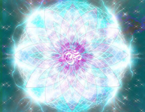 écoulement vers l'intérieur outtward de lumière à cristaux liquides;  cosmique OM