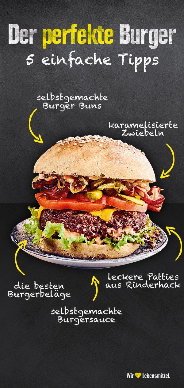 5 Tipps für den perfekten Burger