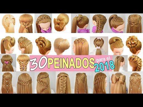 Peinados recogidos ninas 2018