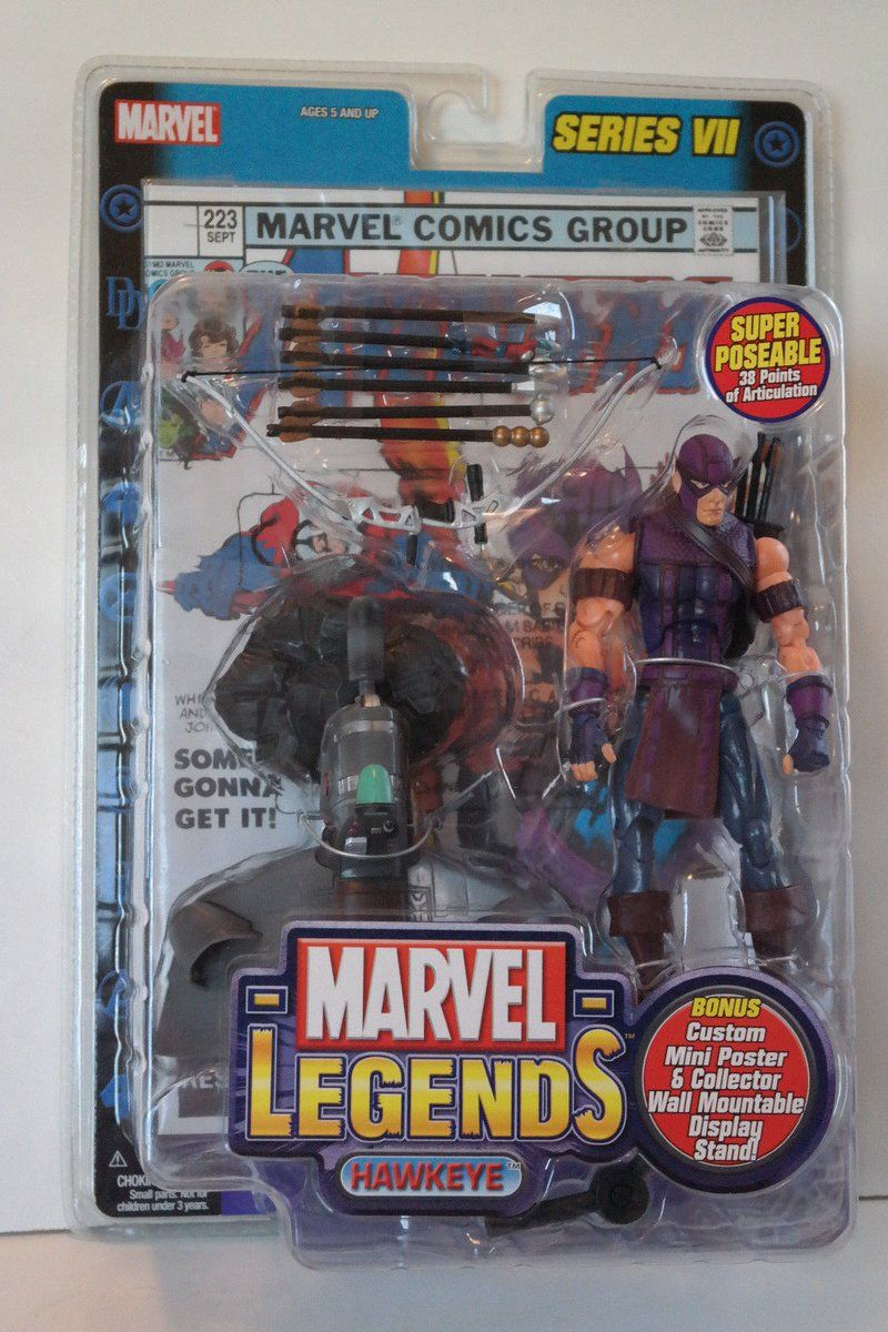 #Popular - Marvel Legends HAWKEYE Series VII Action Figure Sealed AVENGERS Comics Toy-Biz  http://dlvr.it/P7qYks - http://Ebaypic.twitter.com/6kTfy2gmU8